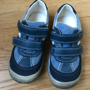 BEEKO Leather Toddler Shoes - Sz 28 NIB